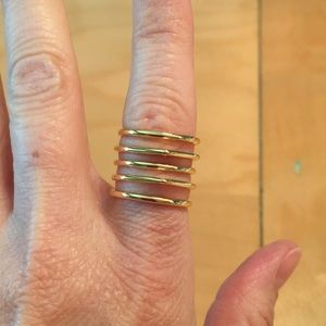 Stella & Dot Maylee Ring in gold